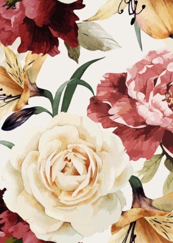 Doux Bécot Couverture minky 27 x 40 vintage