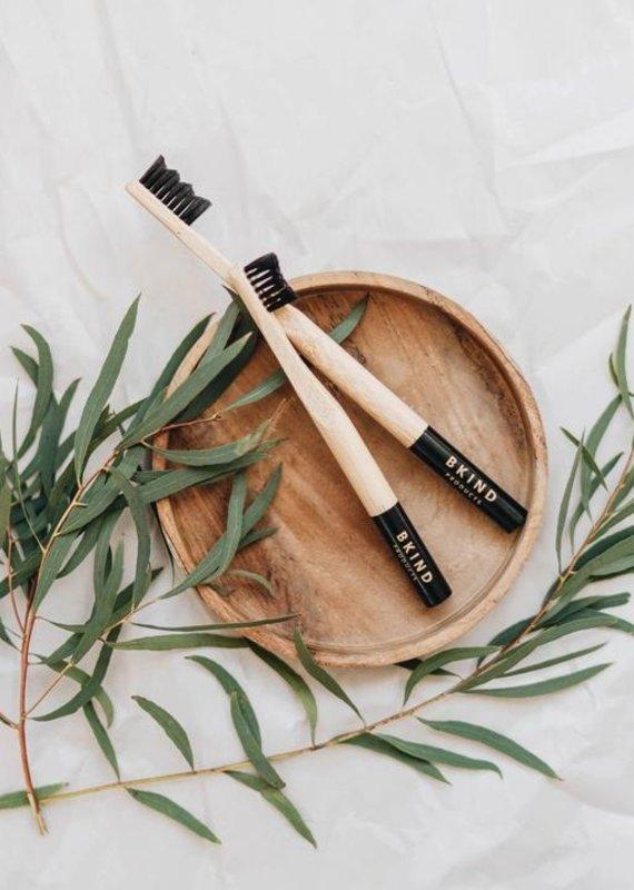 BKind Brosse à dent en bambou enfant