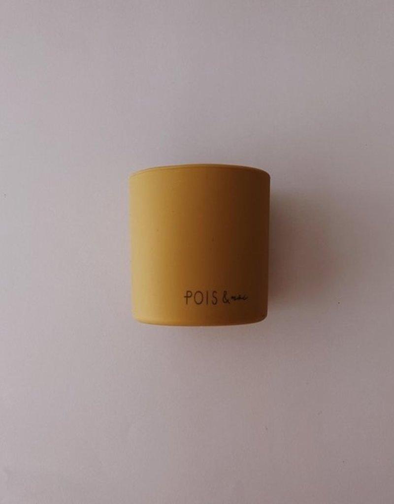 Verre en silicone pour mini moutarde