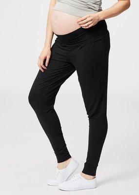 Pantalon de détente noir bande haute