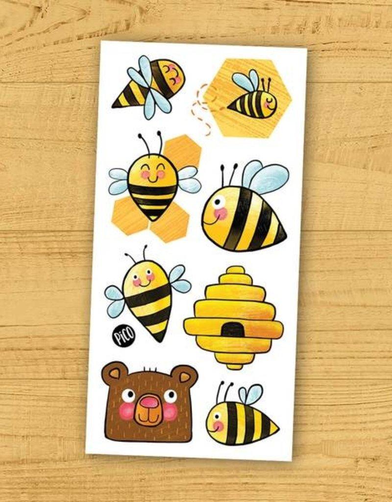 Pico tatouages temporaires Tatouage temporaire les abeilles