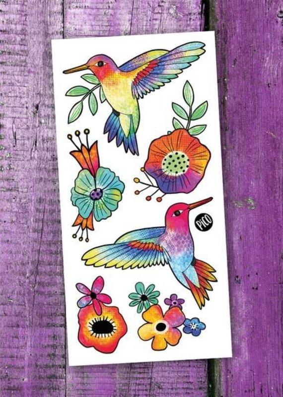 Pico tatouages temporaires Tatouage temporaire Colibris