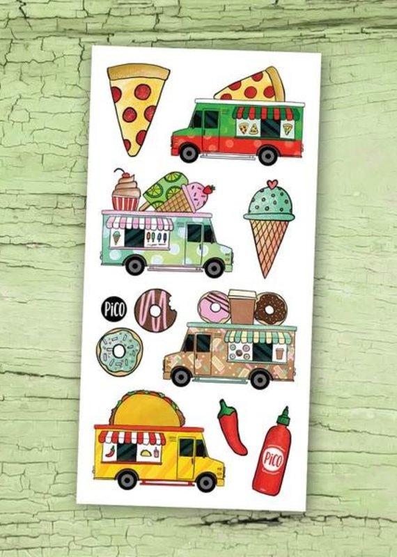 Pico tatouages temporaires Tatouage temporaire Food truck