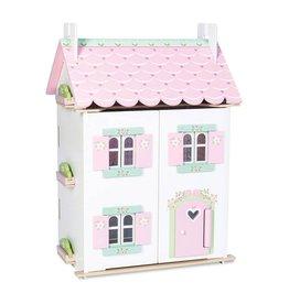 Le toy Van Cottage Sweetheart avec ensemble de meubles
