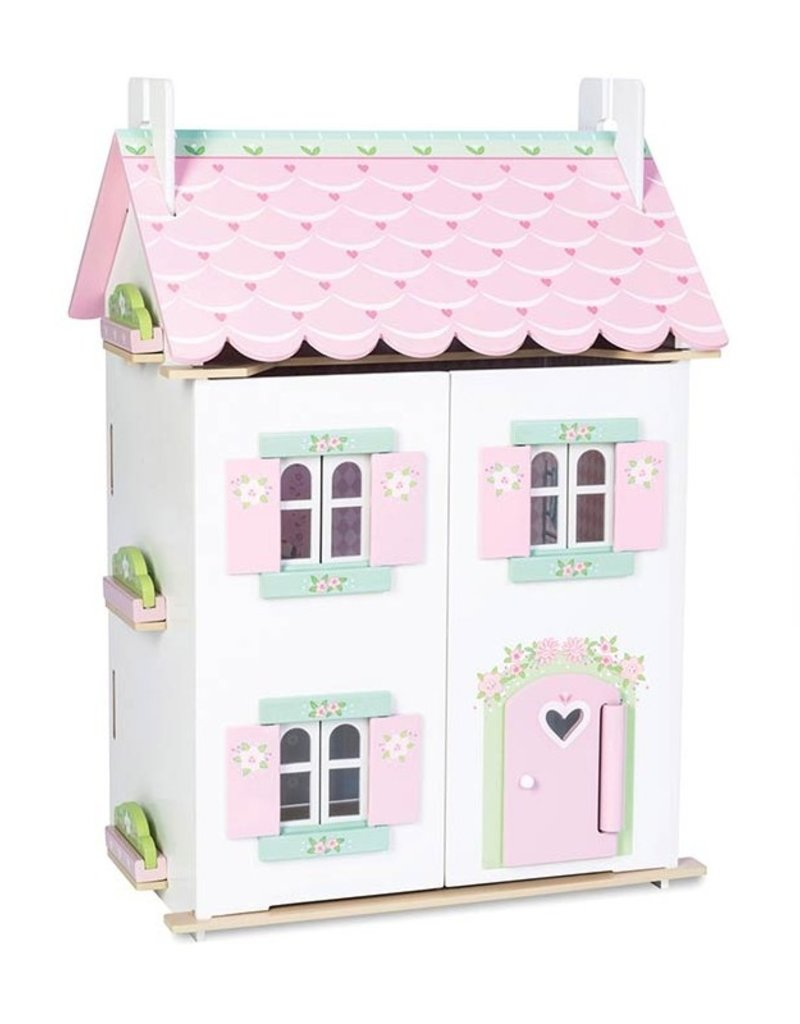 Le toy Van Cottage Sweetheart avec ensemble de meubles