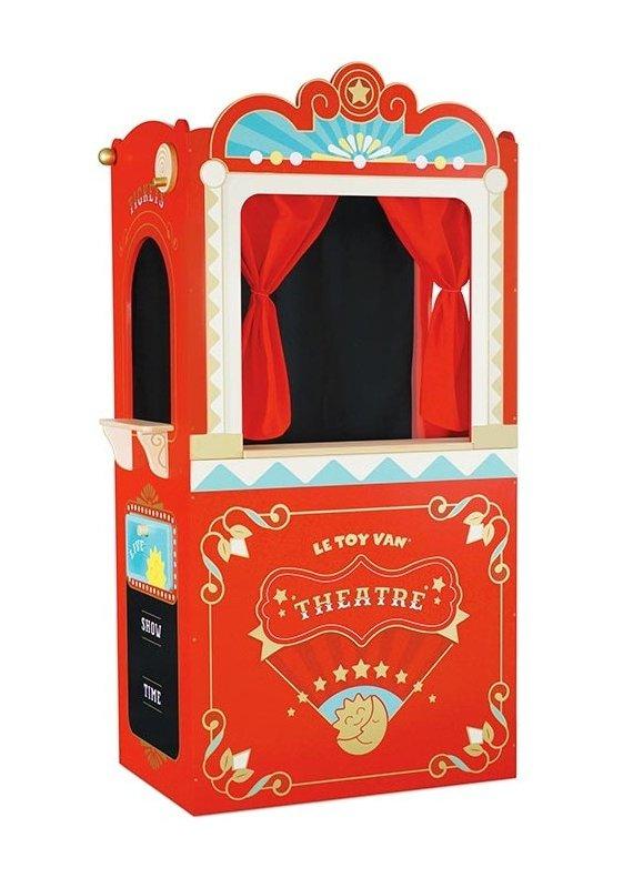 Le toy Van Théâtre de marionnettes
