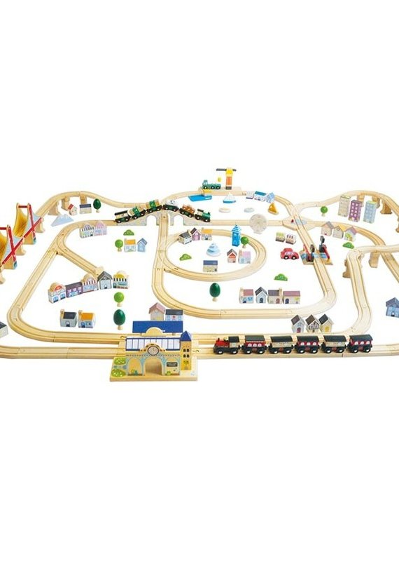 Le toy Van Train Royal Express 150 pièces