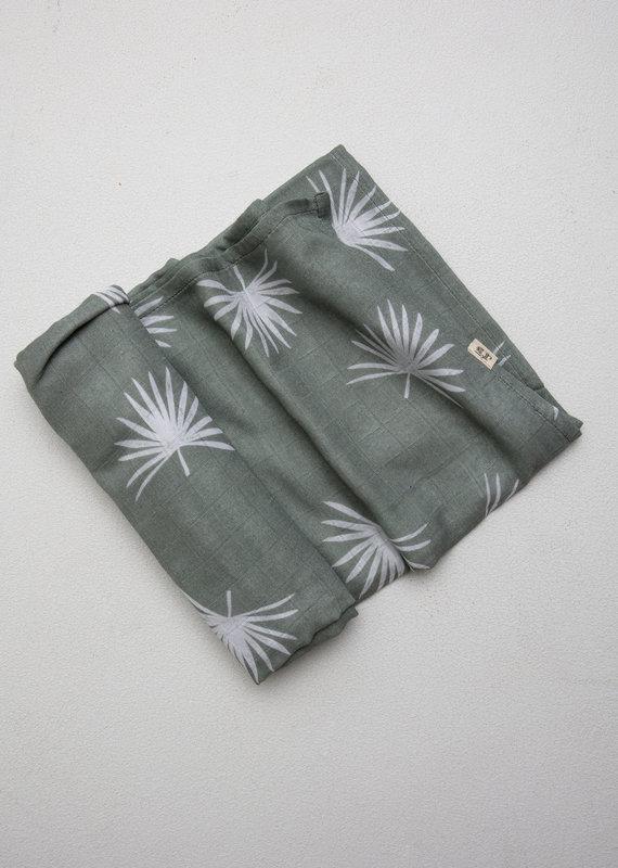 Little Yogi Mousseline Little Palm Leaf
