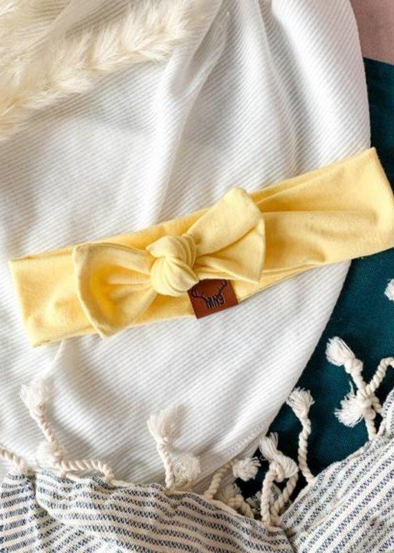 Nine Bandeau jaune femme
