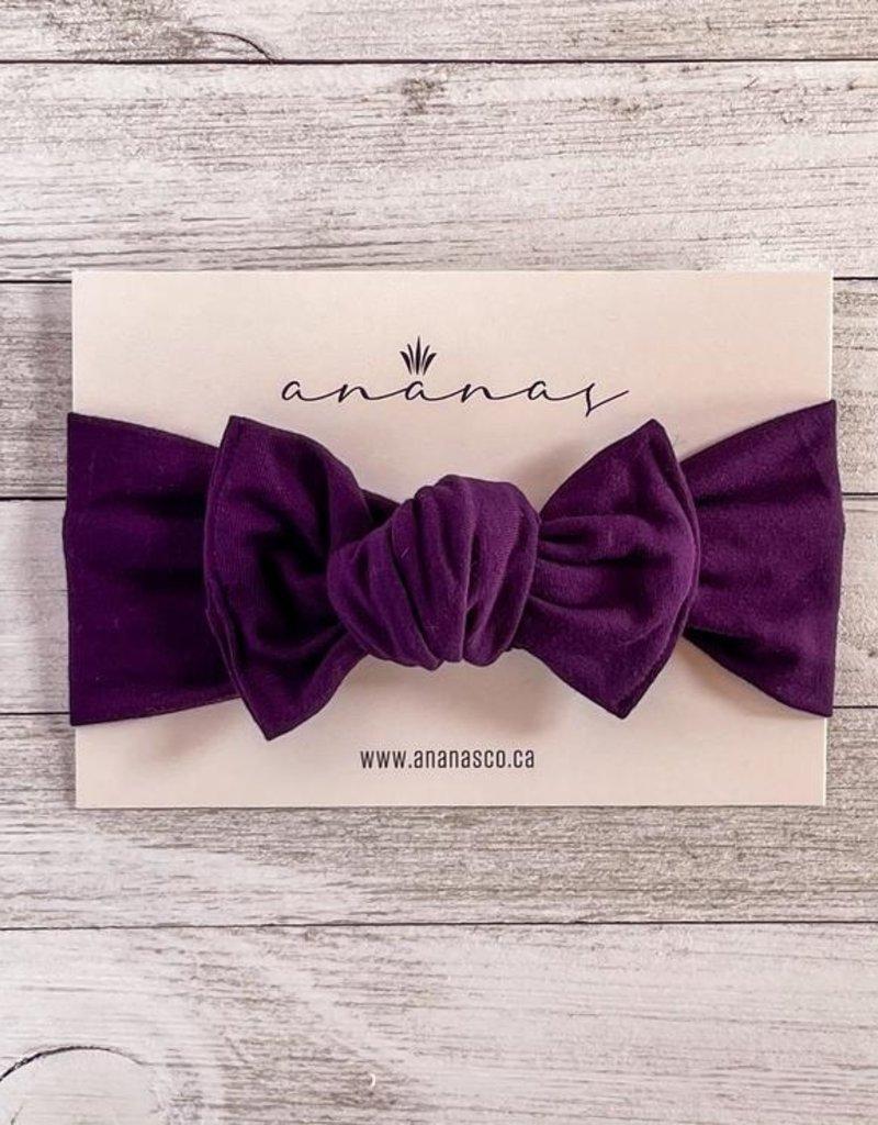 Ananas Co Bandeau boucle 0-5ans violet