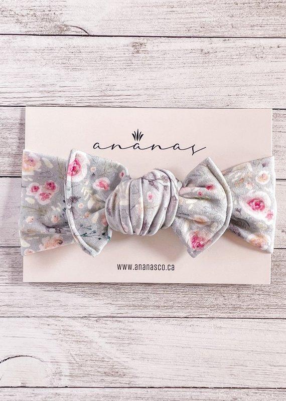 Ananas Co Bandeau boucle 0-5ans petit rosier sauge