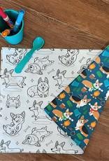 Création Écoval Napperon à colorier Chiens