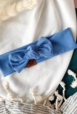 Nine Bandeau bleu femme