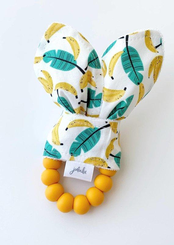 Hochet oreilles de lapin Bananes