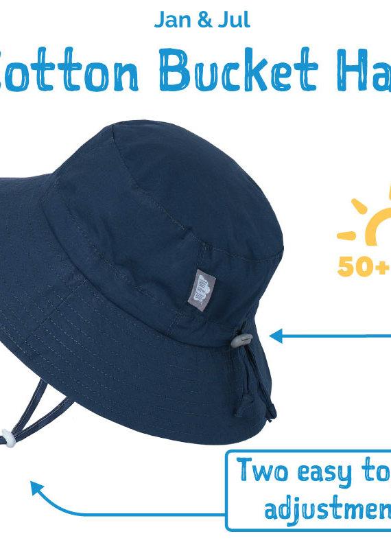 Jan & Jul Chapeau Coton bucket Marine