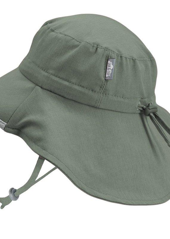 Chapeau Adventure vert armée