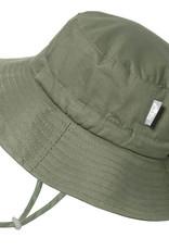 Jan & Jul Chapeau coton bucket vert armée