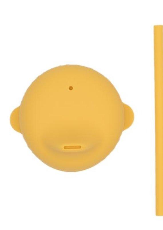 We might be tiny Couvercle bec et paille jaune