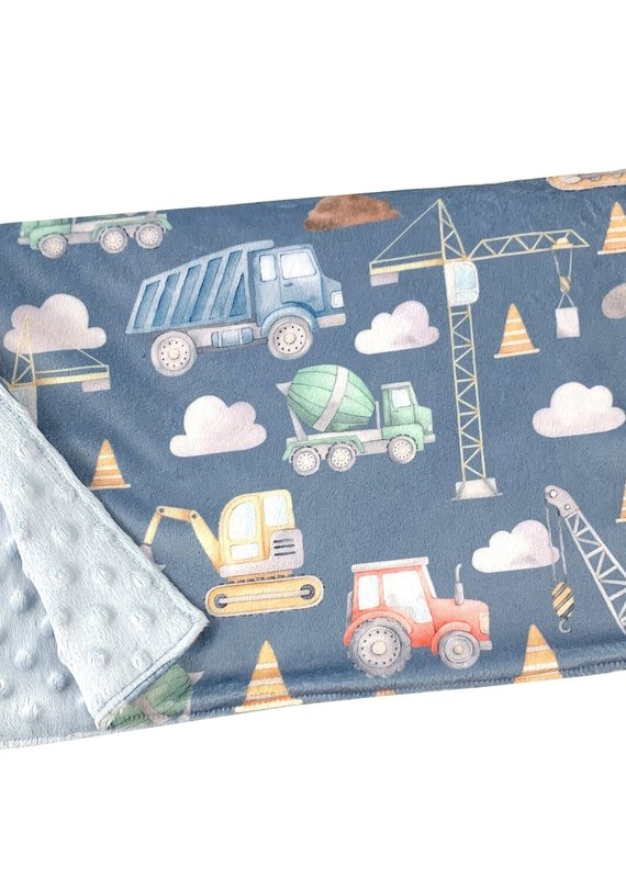 Couverture minky OOPS  Construction 2