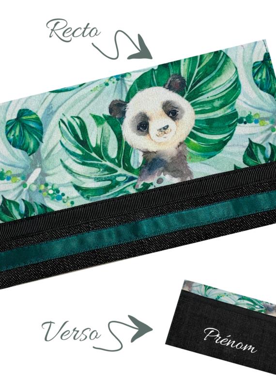 Protège-carnet de santé Pandas