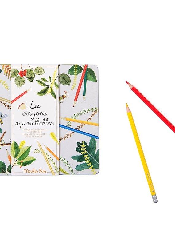 Crayons aquarellables (24)