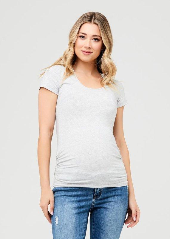 Ripe T-shirt maternité coton bio gris