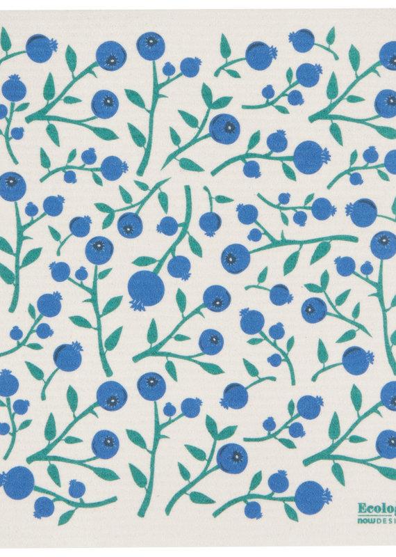 Linge suédois absorbant polyvalent Bleuet
