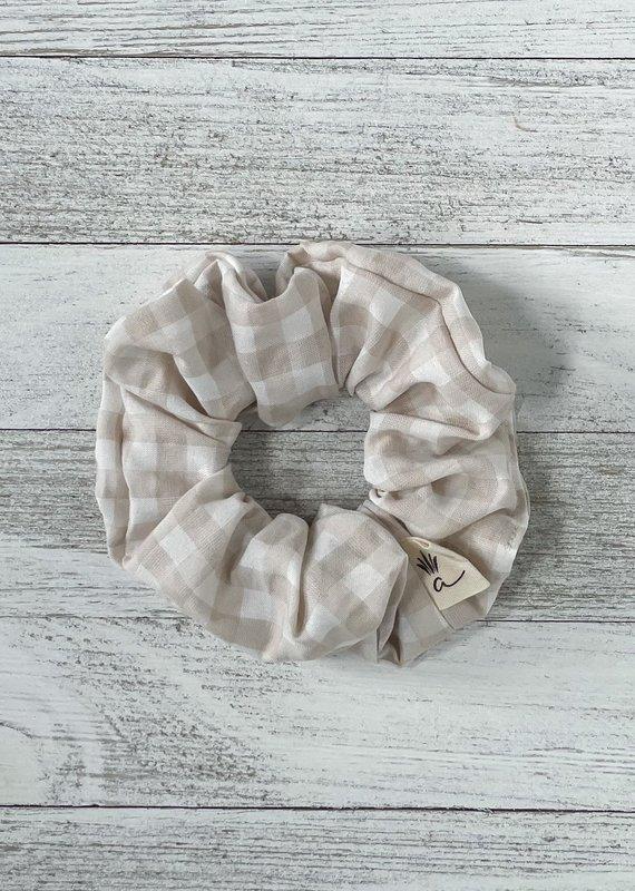 Ananas Co Chou coton carreaux beige