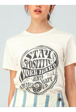 Trend Notes Work Hard Graphic Tee