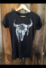 Bandit Bran New Mexico Skull Tee