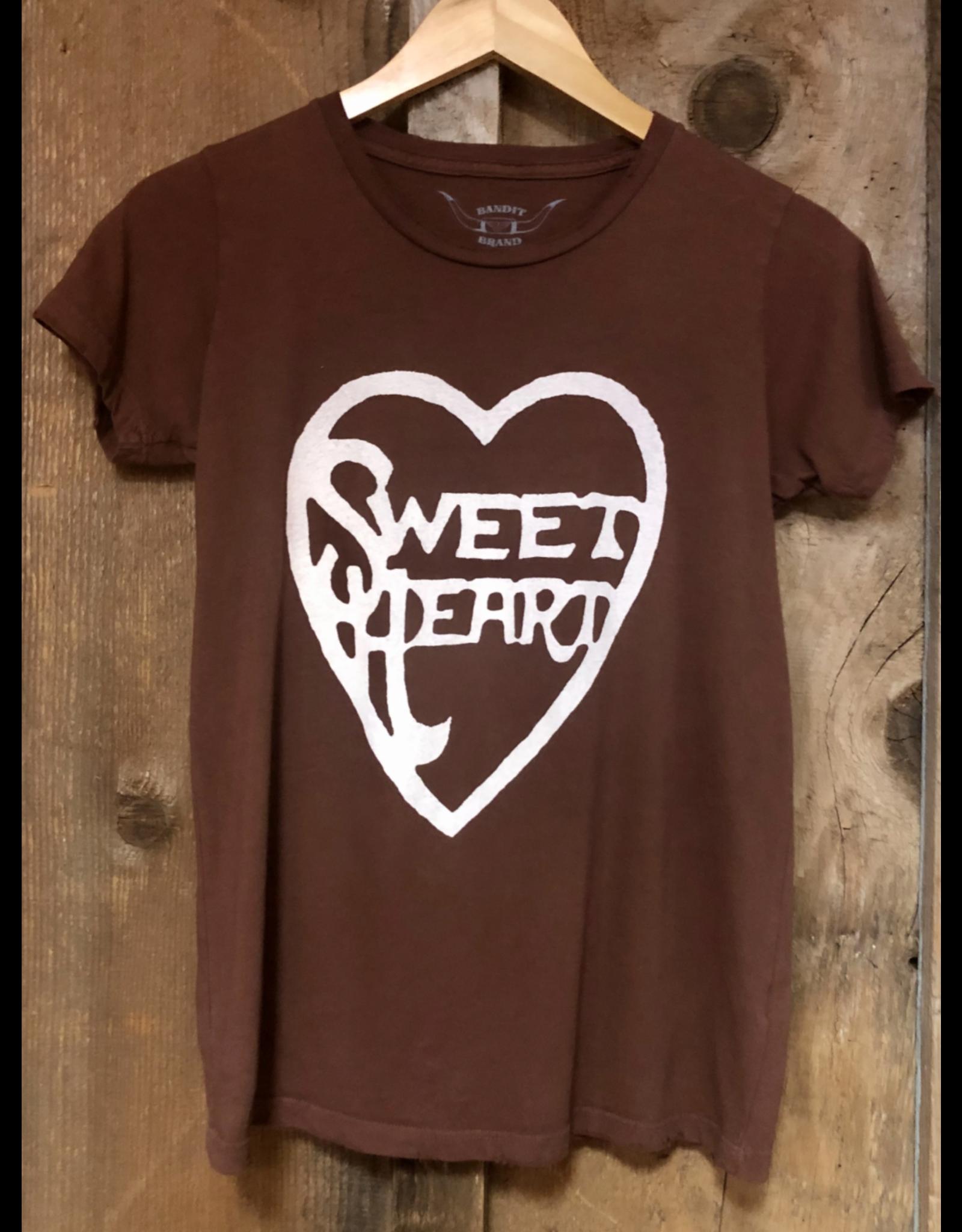 Bandit Bran Sweet Heart Tee