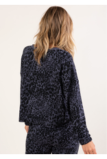Love Stitch Animal French Terry Pullover