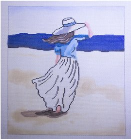 Patti Mann PM20004 GIRL ON BEACH 13CT