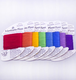 Rainbow Gallery RG Mandarin Floss