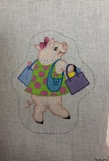 Annie Lee Pigs in Paradise canvas/stitch guide
