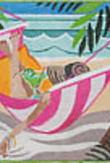 IT'S ALL ABOUT THE BEACH GIRL IN HAMMOCK JMKL1148