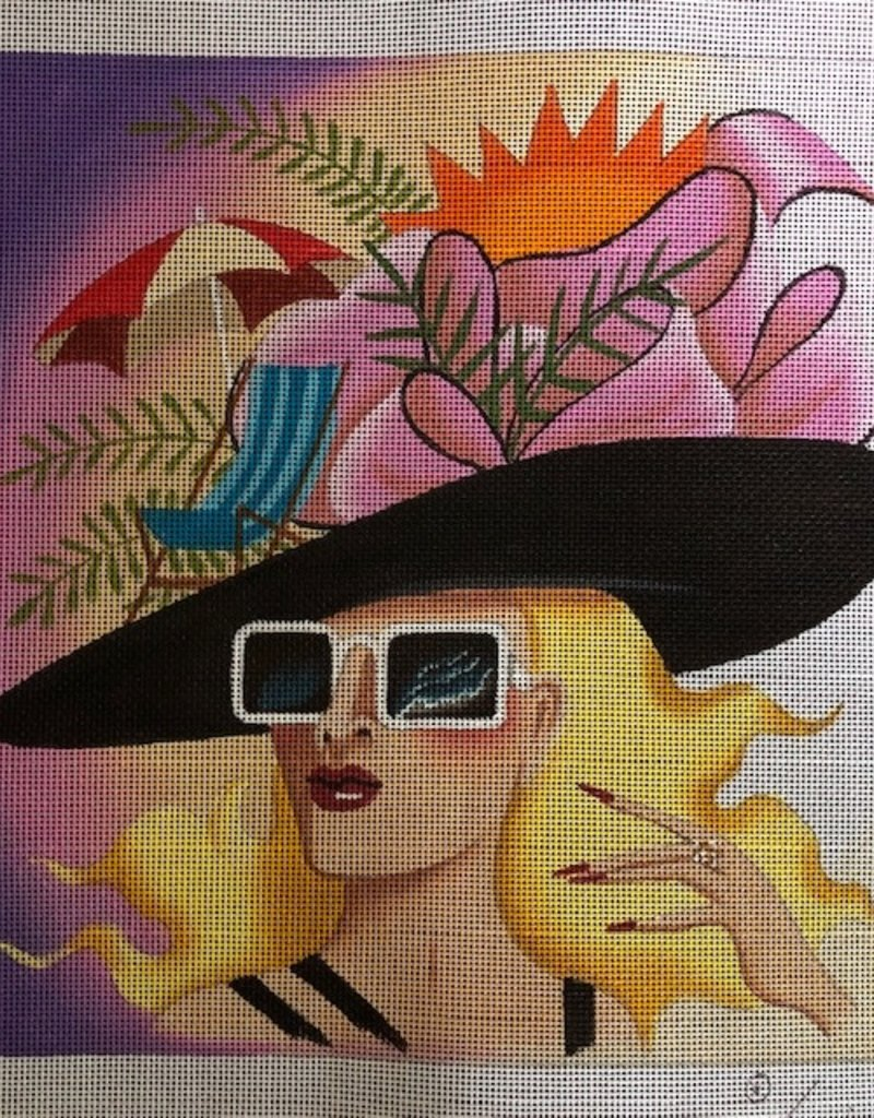 4917 Summertime Hat Lady Leigh Designs