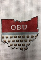 OSU CS2-0H2.   Ohio State ornament  Kangaroo Paws