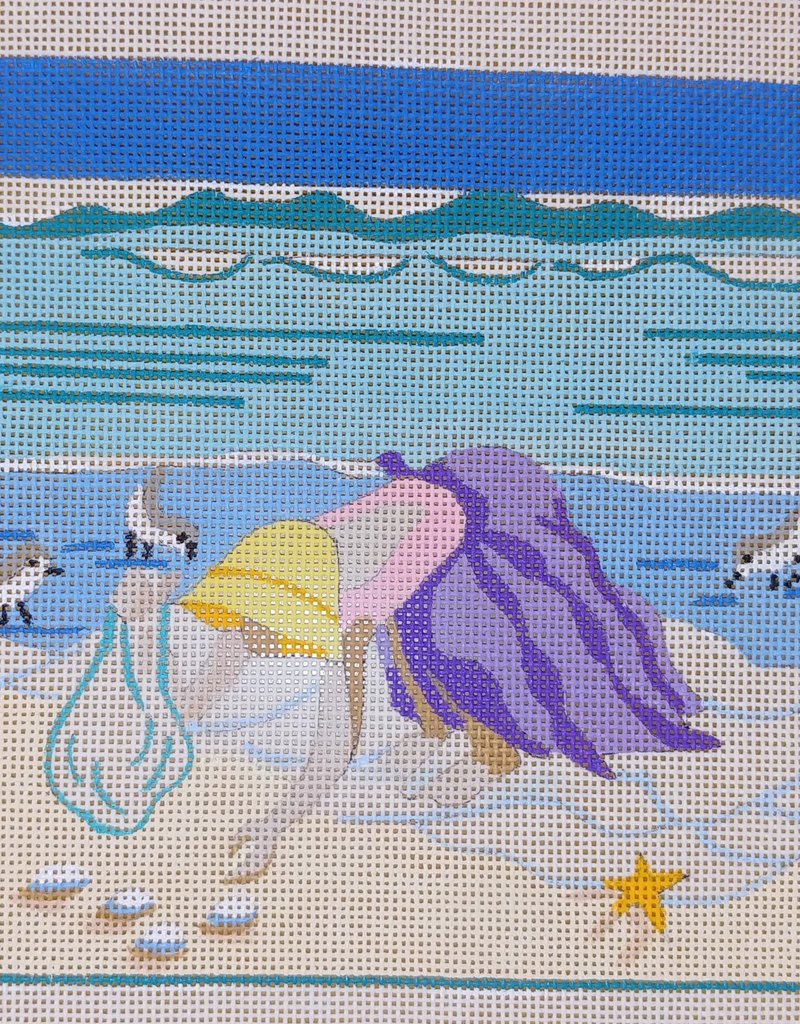 IT'S ALL ABOUT THE BEACH Downward Dog  JLKM1174