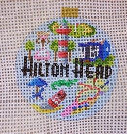 KB1381 Travel Hilton Head  Round