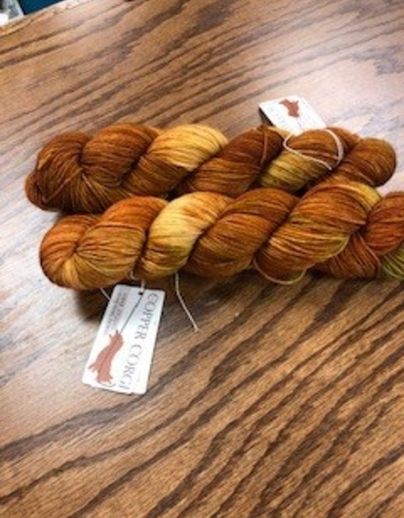 Autumn Spartina Yarn Sock