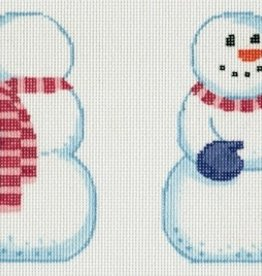 LL426A SNOWMAN W/RED BIRD