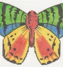 LL440A MULTI COLORED BUTTERFLY