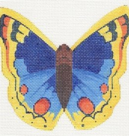 LL440G BLUE AND YELLOW BUTTERFLY