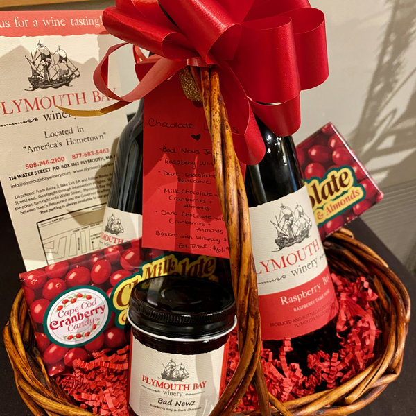 Gift Basket:  Chocolate Lover's