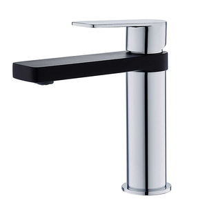 akuaplus Ira Akuaplus basin faucet rm0822bl Chrome / Black