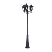 Ove Alice floor lamp with 3 black LED lanterns
