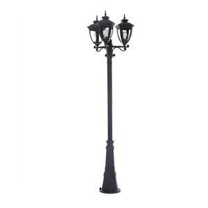 Ove Lampadaire Alice a 3 lanternes DEL noir