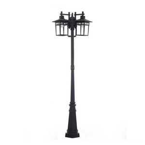 Ove Marco floor lamp 3 black LED lanterns