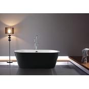Serinity Black Freestanding Bathtub Jade